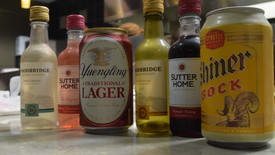 Some alcohol options at Mckinney's (photo: )