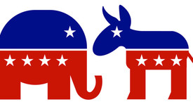 Republican and Democratic party animals: the elephant and the donkey. Image retrieved from radradio.com (photo: )
