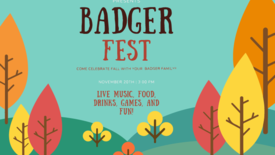 Badger Fest Flyer (photo: BessMorgan Baluyut)