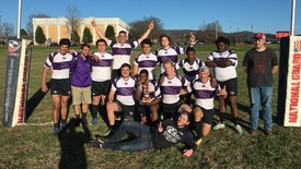 Rugby Team after taking their win (photo: )