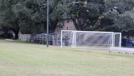 The soccer field at Spring Hill College. (photo: Matthew Moreno)