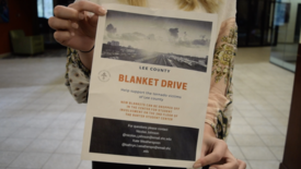 Spring Hill Students come together for a Blanket Drive (photo: Katie Hendler)