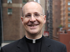 Father James Martin, SJ, was invited to speak at SHC's May 2018 graduation ceremony. (photo: Guideposts)
