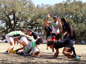 Rugby Players Playing on Dorn Field (photo: )