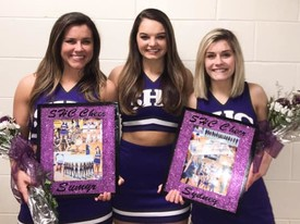 SHC Cheer Team honors their Seniors as they prepare for Nationals (photo: SHC Cheer Team)