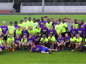 Spring Hill's Track and Field Team prepares for their upcoming season. (photo: Amelia Hoffeld)
