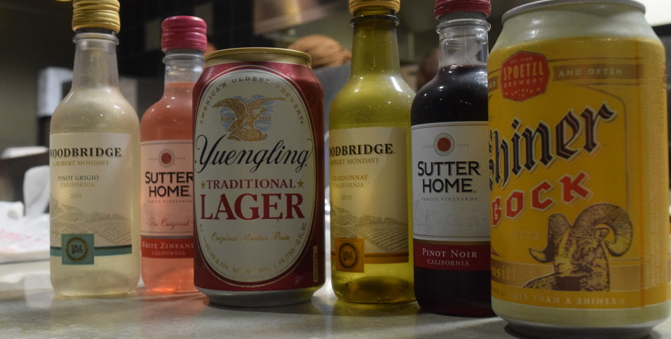 : Some alcohol options at Mckinney's