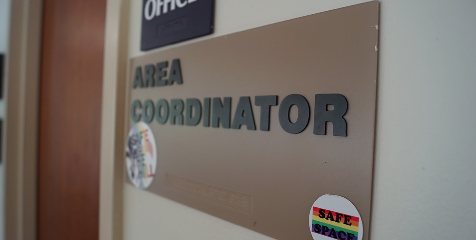 : Residence Life Area Coordinator Sign