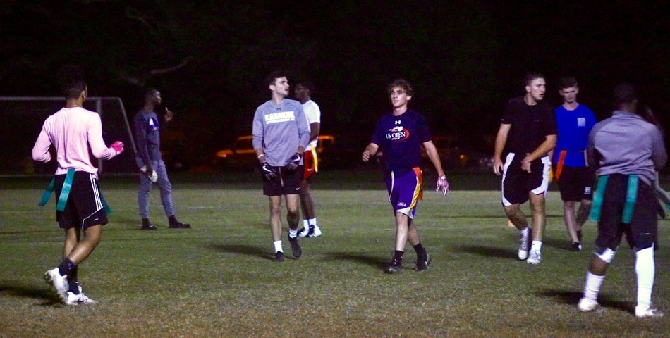 Lucia Martinez: Intramural Flag Football Game