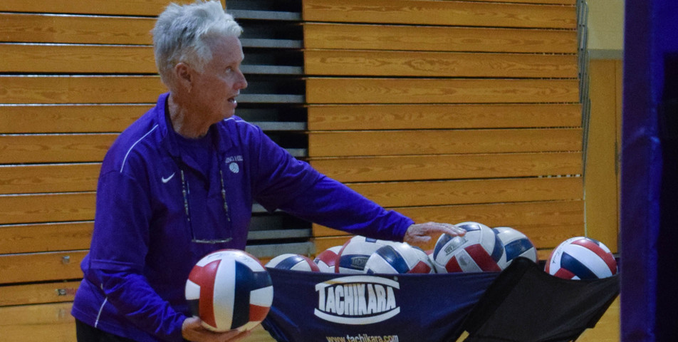 Maegan Lynch: SHC volleyball coach Peggy Martin